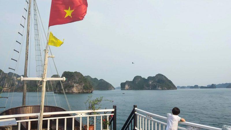 Vietname com crianças