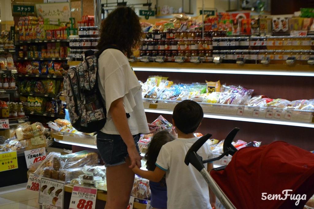 supermercado no japão