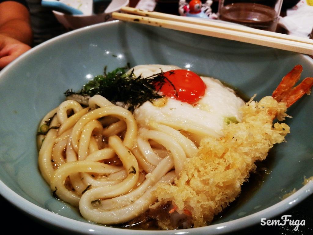 comida japonesa de que as crianças gostaram