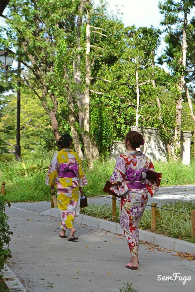 quimono típico do Japão