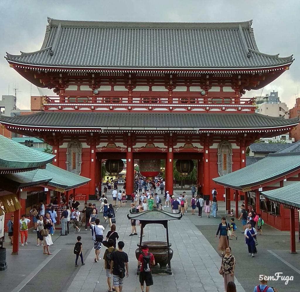 entrada do senso ji temple em tóquio