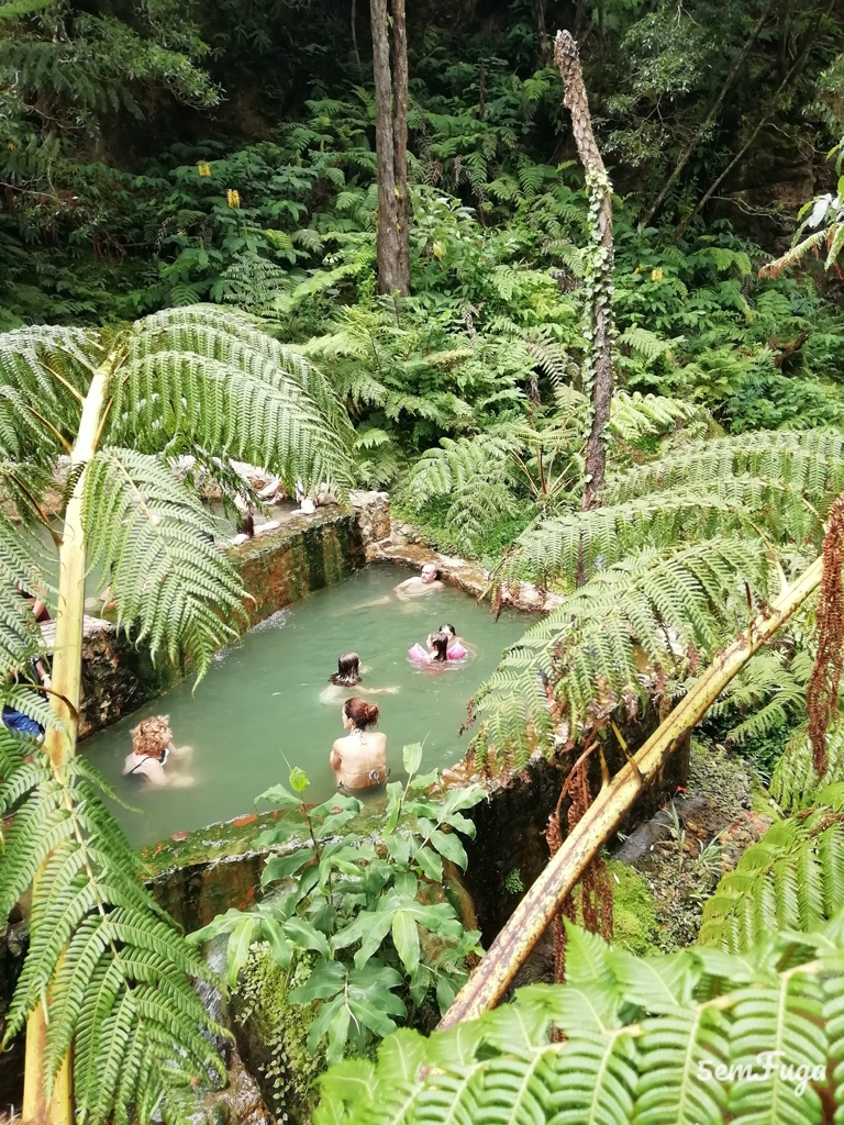 piscinas naturais do parque caldeira velha