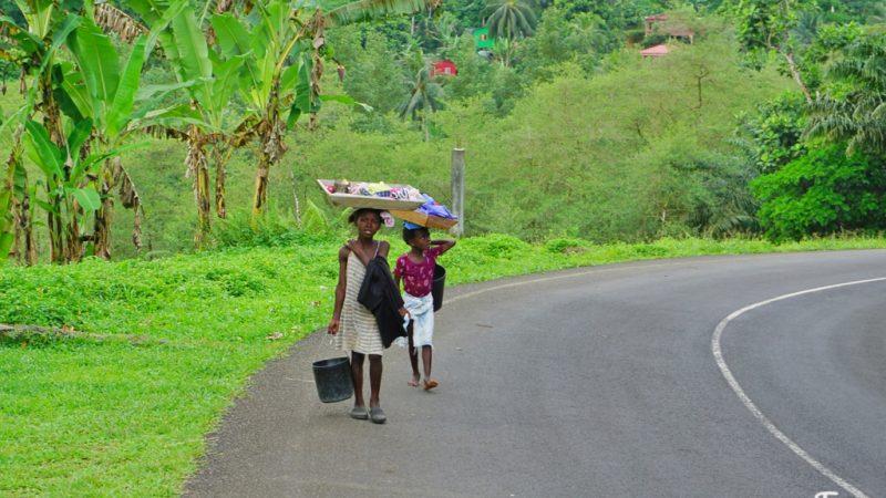 São Tomé: a ilha do leve-leve