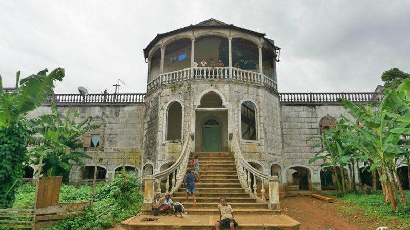 Pelo sul de São Tomé
