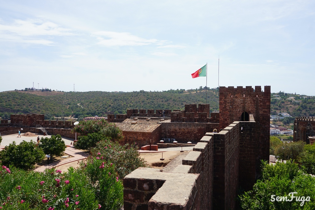 pormenor do Castelo de Silves, Algarve