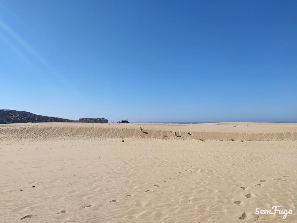 dunas na praia da bordeira, algarve