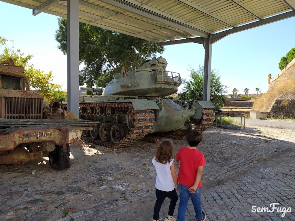 tanque de guerra museu militar elvas