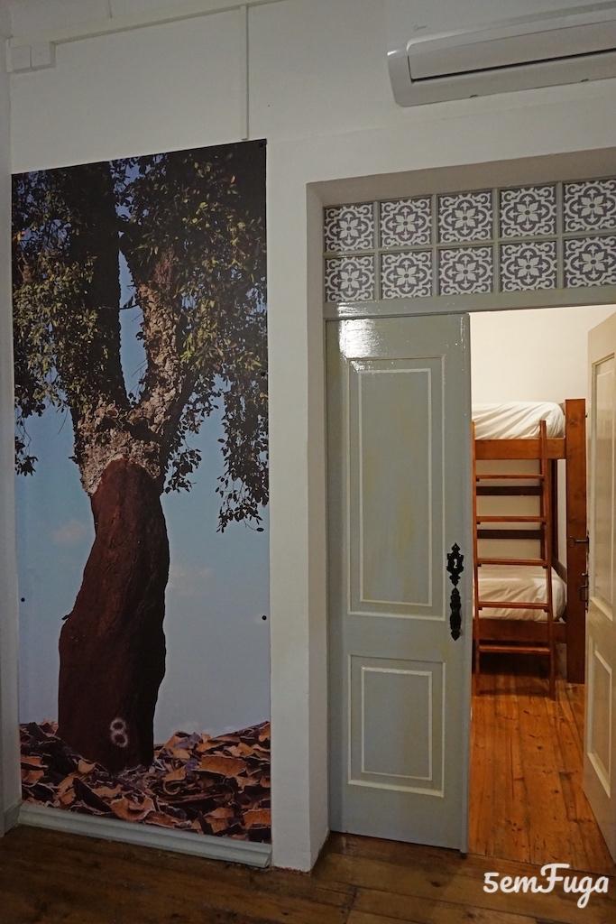 quarto familiar no very typical hostel em elvas