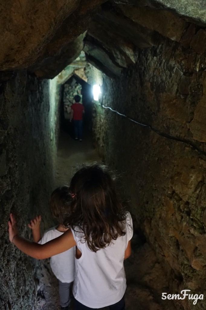 túnel forte santa luzia elvas