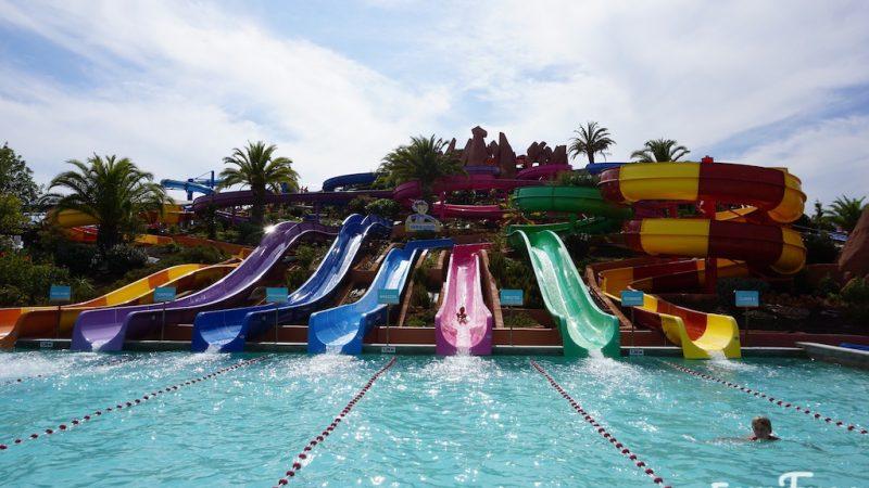 Parque Aquático Slide & Splash