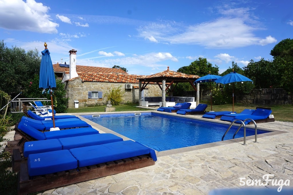 piscina exclusiva dos hóspedes